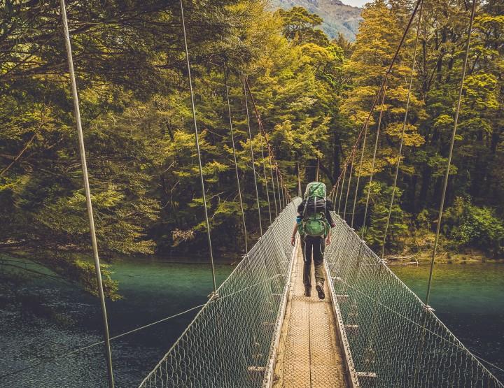 Loop de 4 daagse Milford Track in Nieuw Zeeland