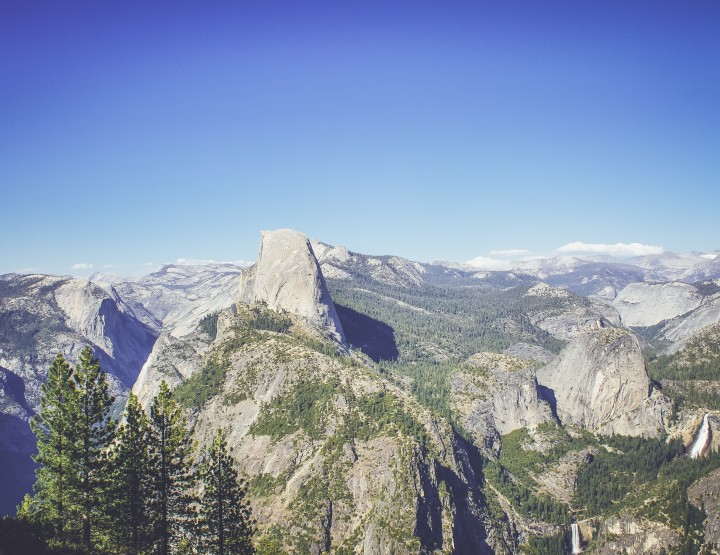 De highlights van Yosemite NP
