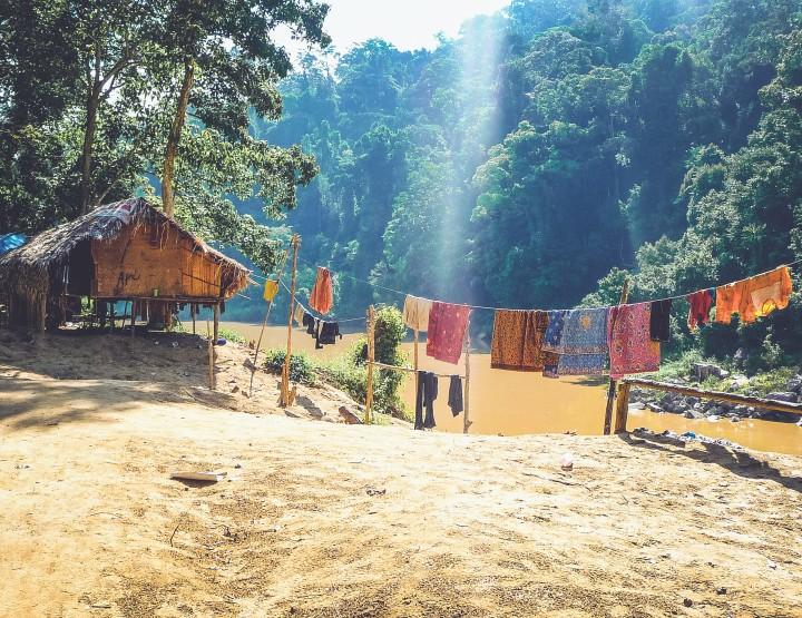 Slaap in de Taman Negara jungle in Maleisië