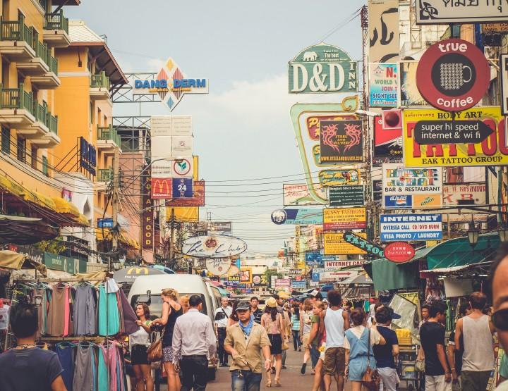 10 mensen die je altijd kunt vinden op Khao San Road, Thailand