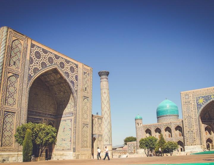 Reizen langs de Oezbeekse Zijderoute