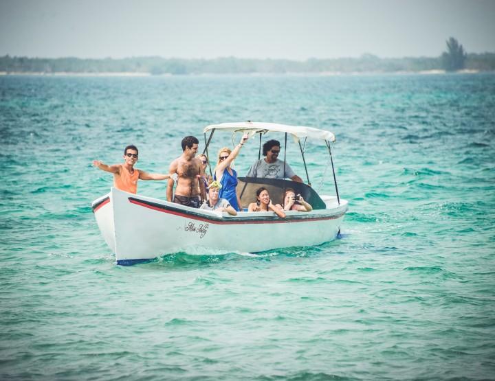 Huur een privé eiland: Little Cay en Sandy Cay in Honduras