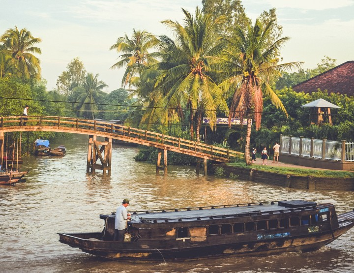 Must do: Fietsen rond de Mekong Delta in Vietnam