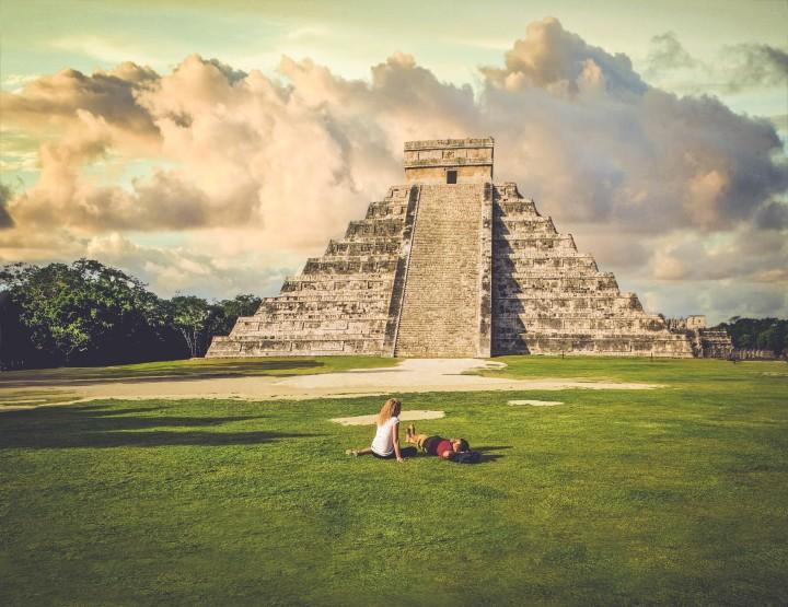 Bezoek de oude Maya stad Chichen Itza in Mexico