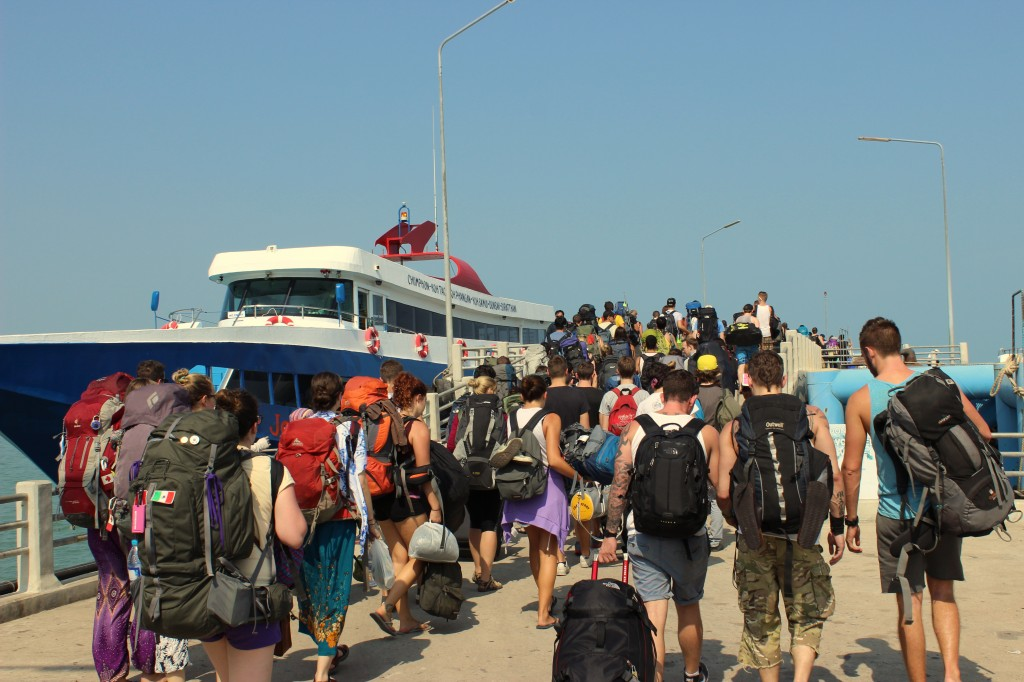 Veiligiheid voor backpackers in thailand