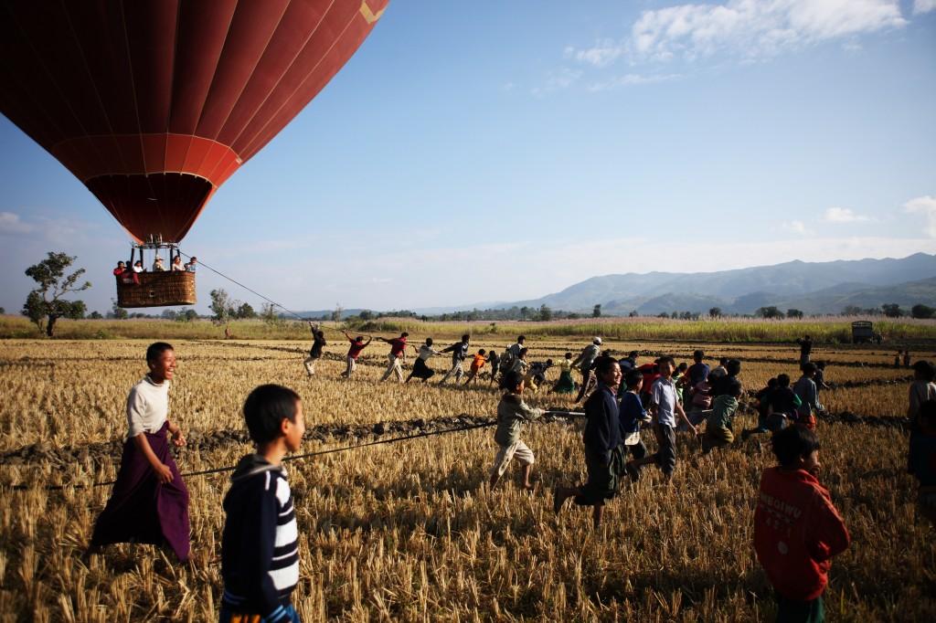 luchtballon bagan