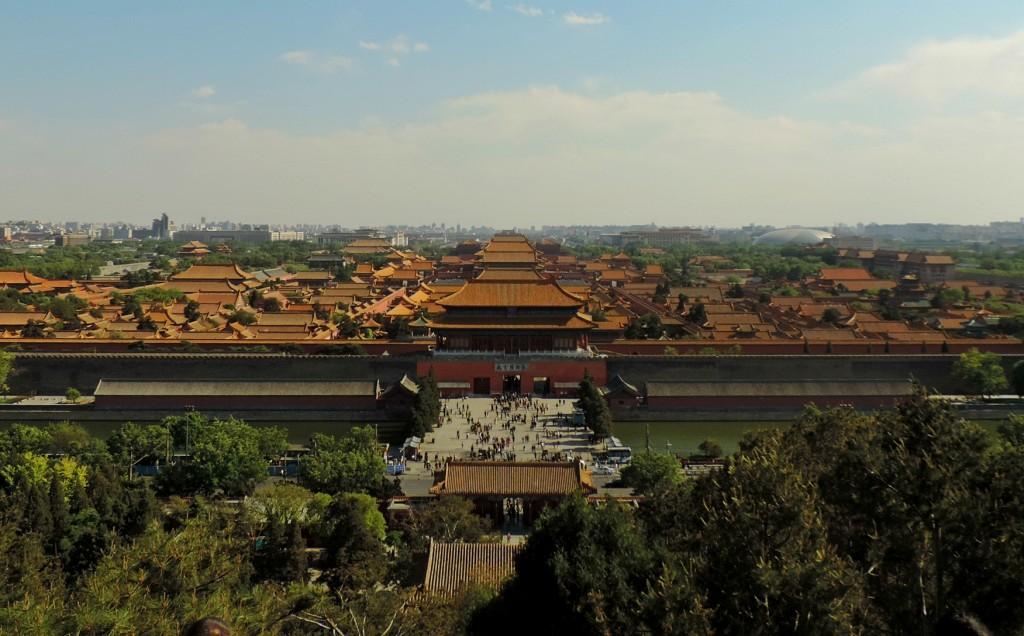 Jingshan uitzicht