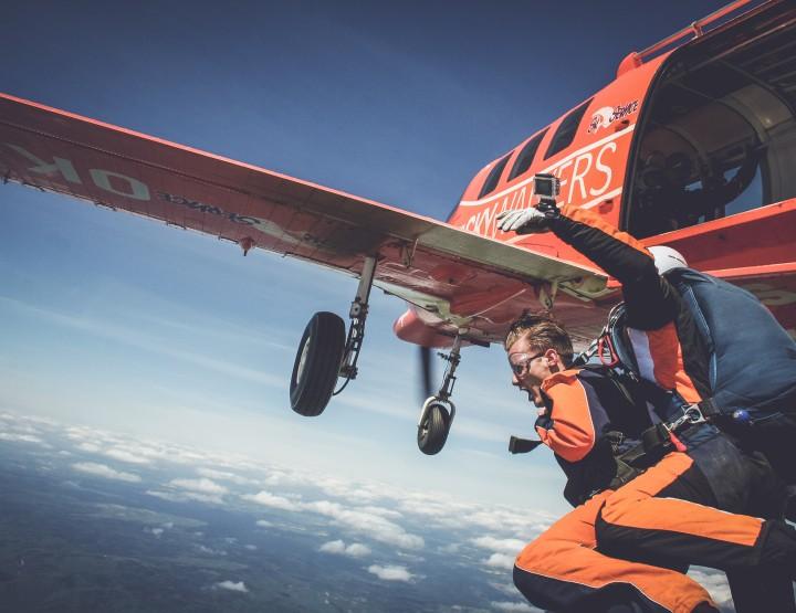 Goedkoop Skydiven in Praag!