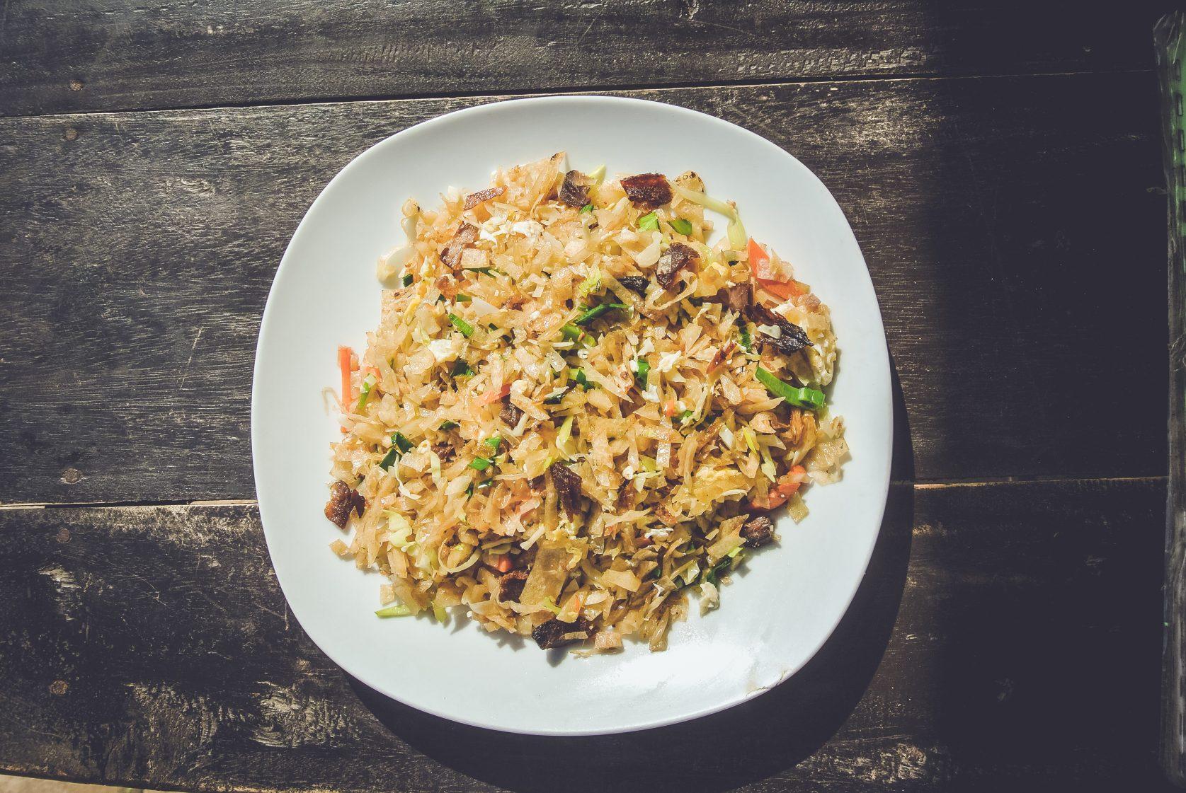 Je kunt er alleen rijst eten, ze kennen geen lekkere gerechten