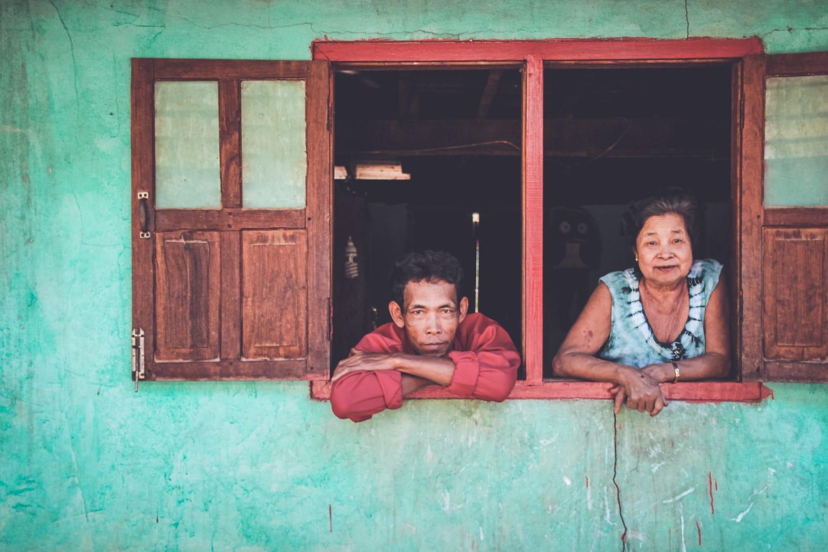 Lao village people