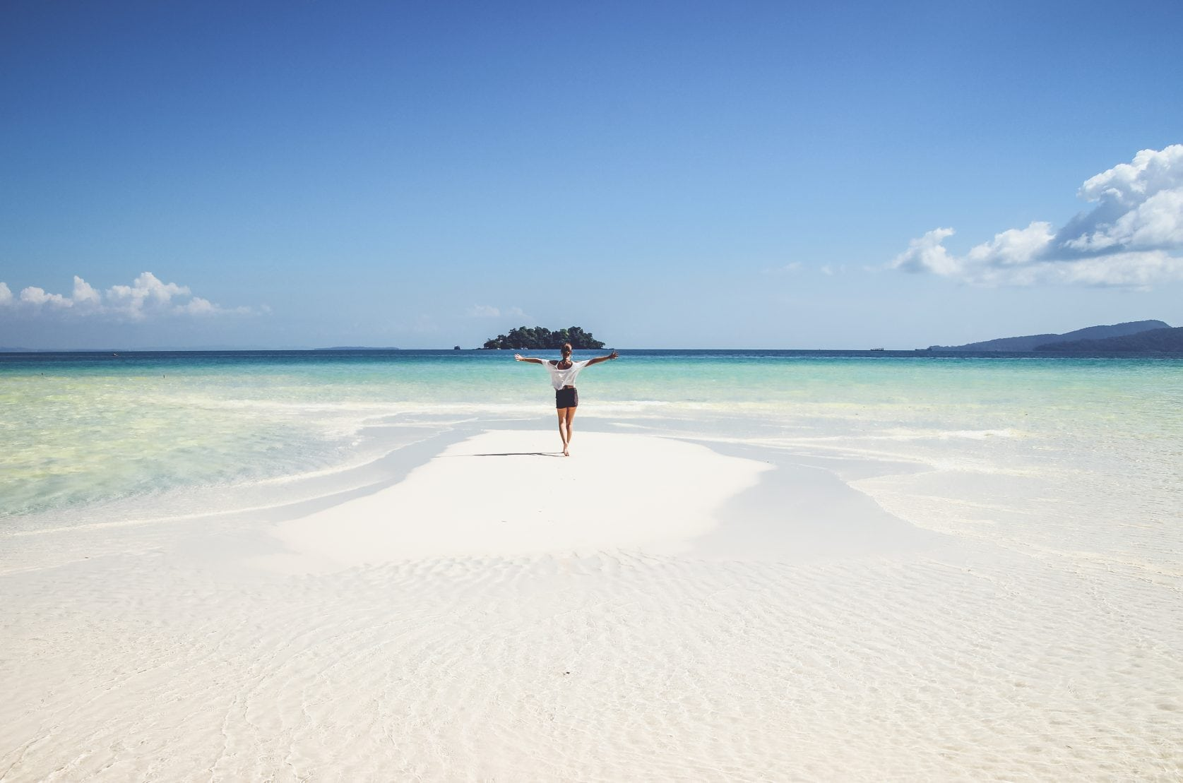 4k beach koh rong