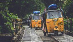 Scheur met je eigen tuktuk dwars door India