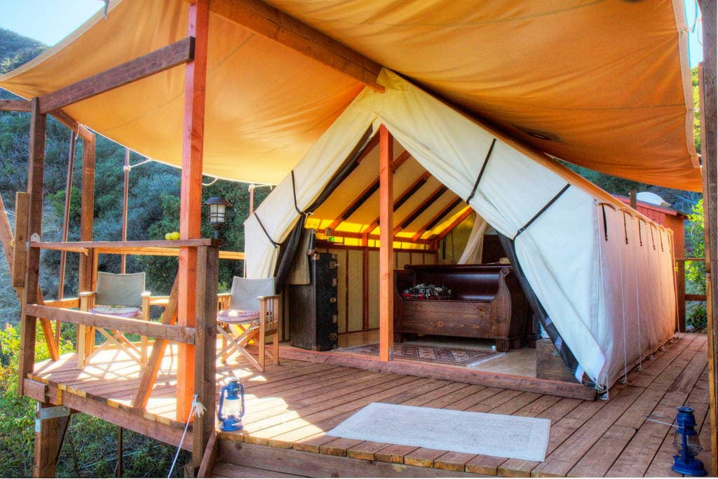 Malibu Safari Chic Tent