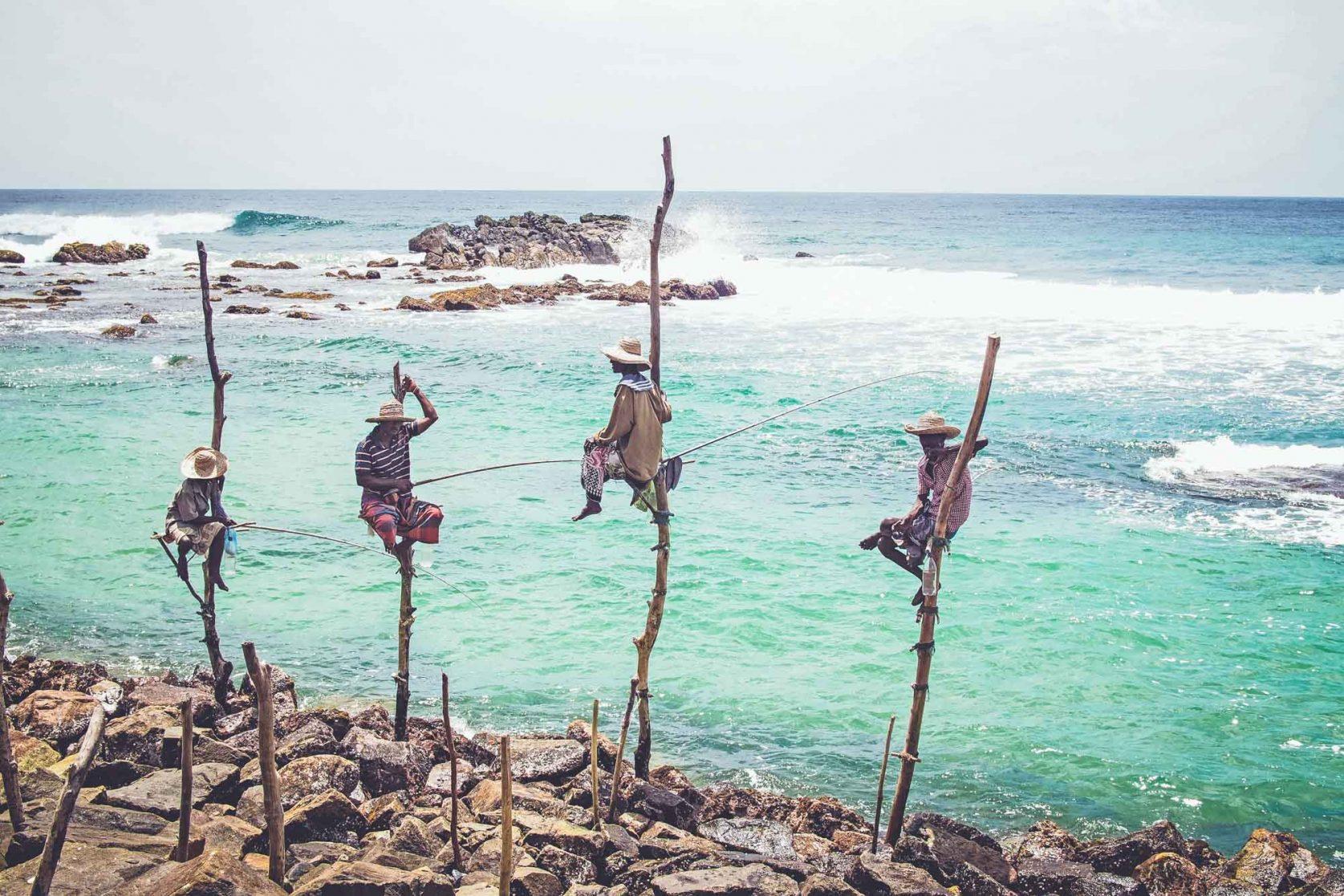 Sri lanka fisherman