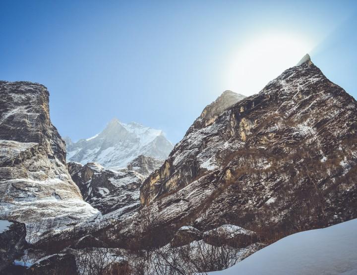 Maak een trekking naar het Annapurna basecamp in Nepal