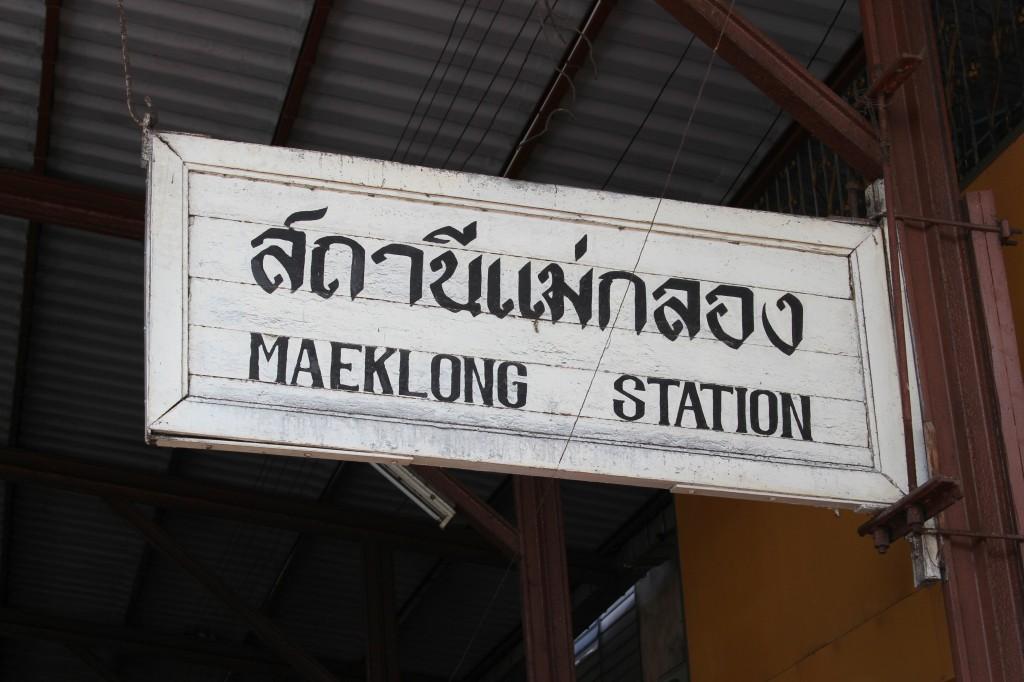 meaklong markt thailand