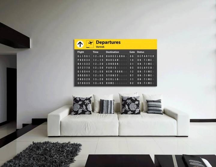 Unieke muurdecoraties voor echte reisjunks