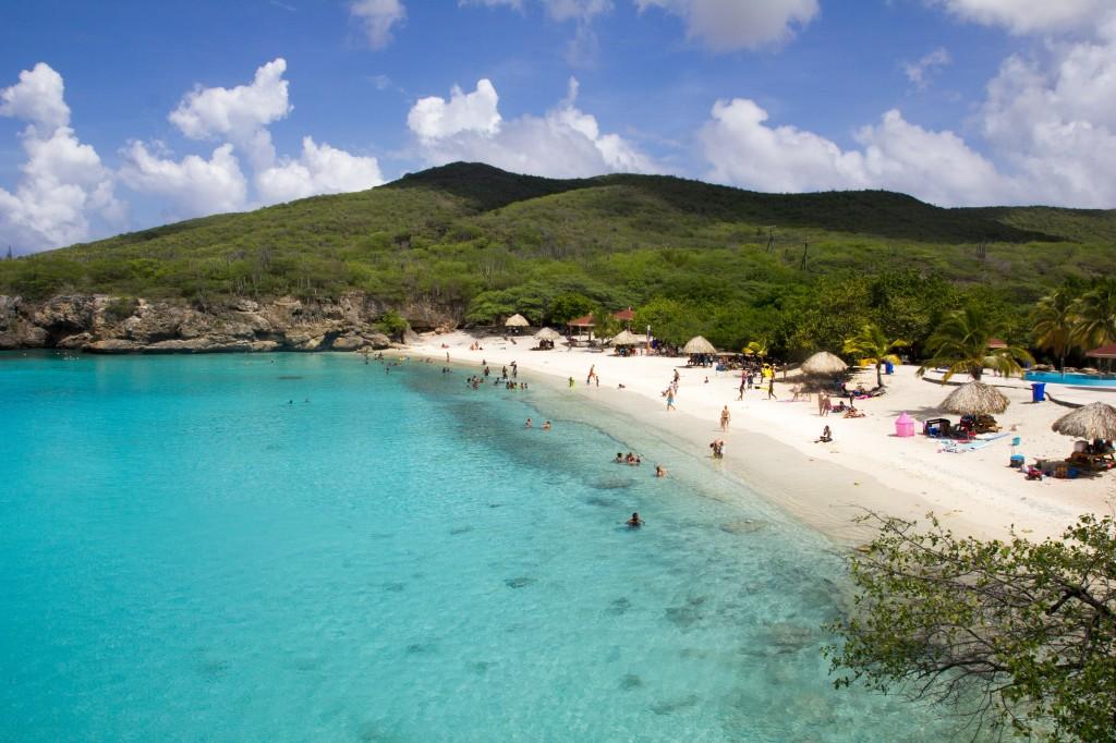 Een van de bekendste een mooiste stranden van Curaçao