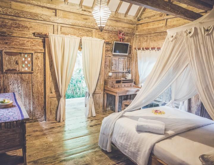 Hotel tip: Slaap in een traditioneel Balinees huis