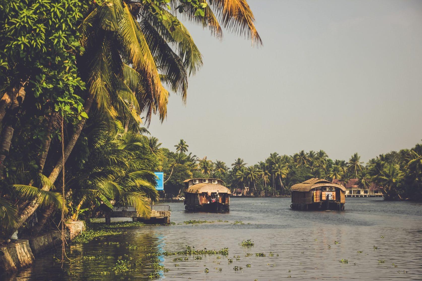 REISJUNK / Verken de Kerala backwaters met een houseboat