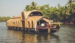 Verken de Kerala backwaters met een houseboat