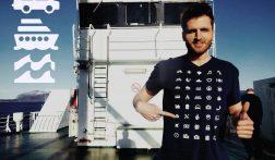 Met dit t-shirt is miscommunicatie op reis verleden tijd
