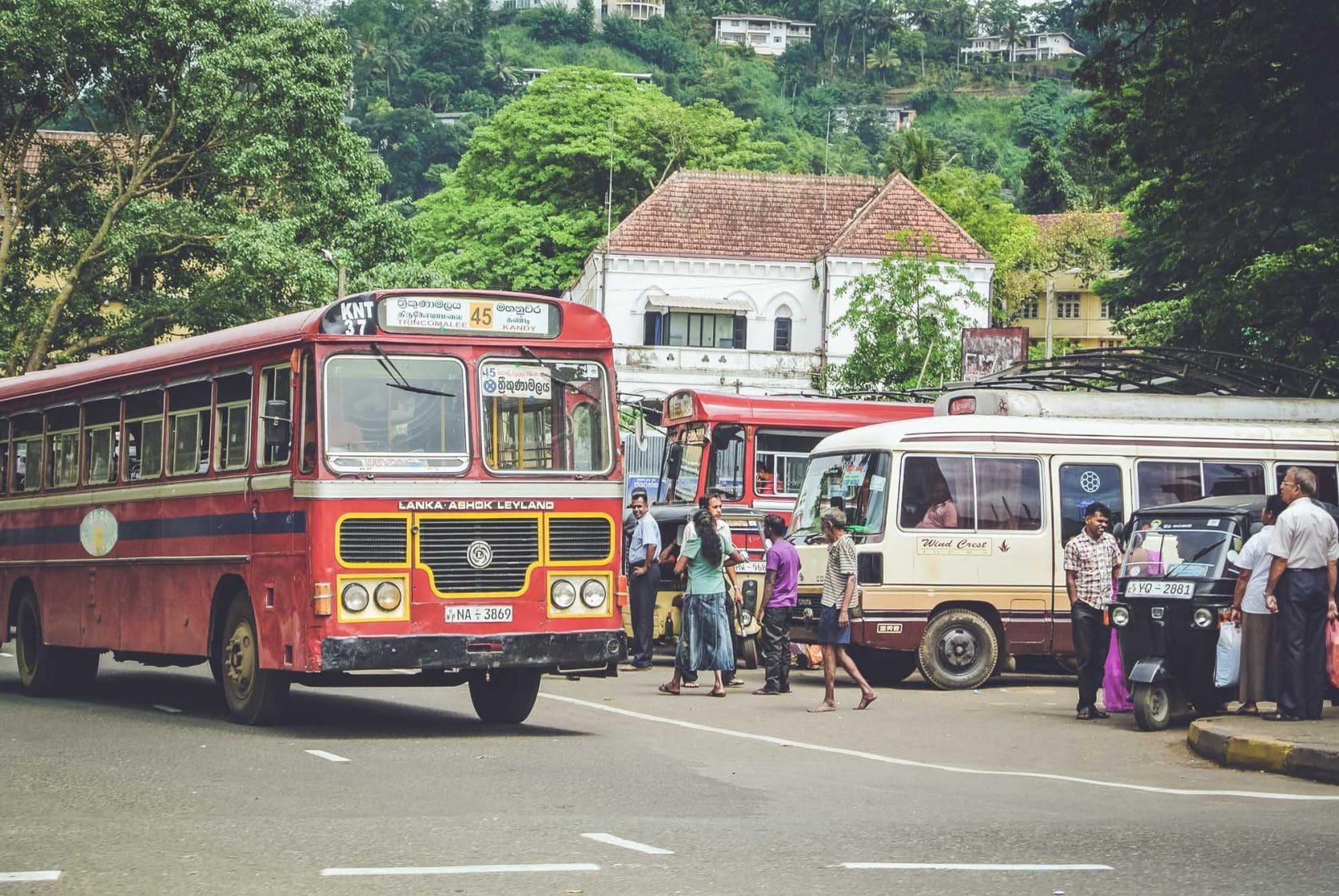 Sri lanka reisroute voor drie weken