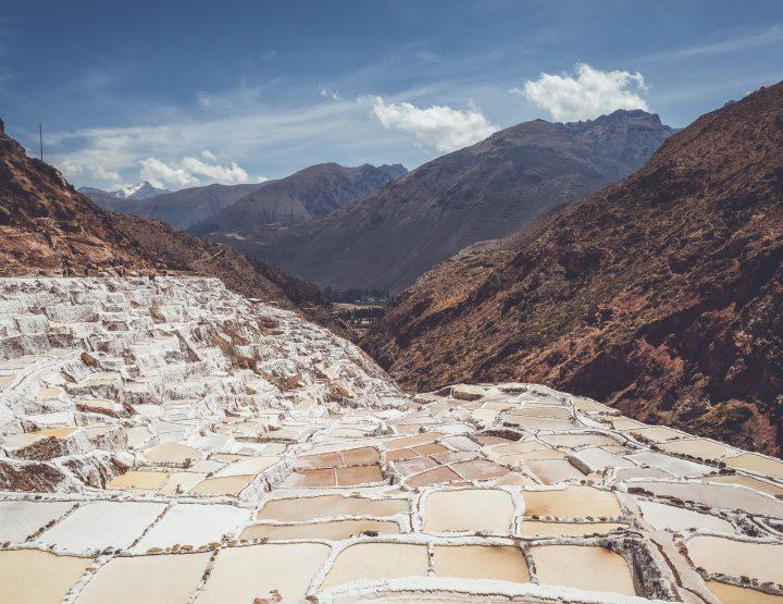 Bezoek de unieke zoutterrassen van Maras in Peru